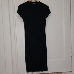 Popular Basics bodycon midi dress